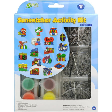 Suncatcher Set (New Image Group Suncatcher Group Activity Kit, Religious, 18-Pack )