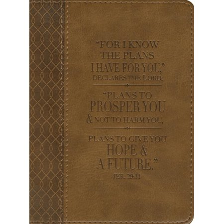 For Know the Plans I Have for You Lux-Leather Journal: Brown