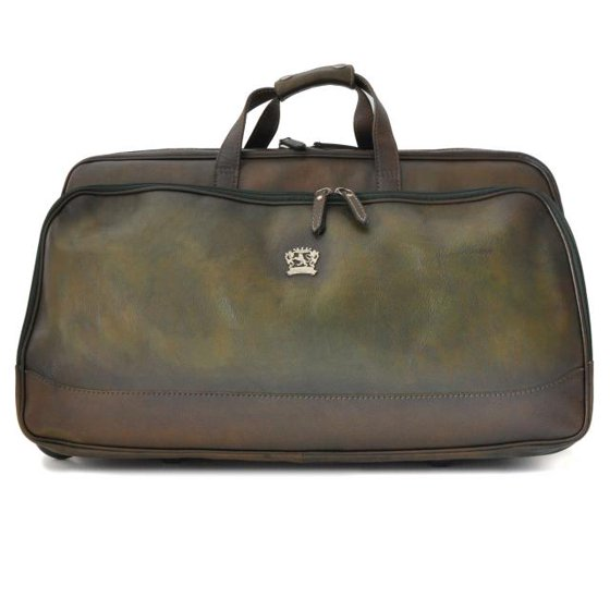 194d04e61f Pratesi Unisex Italian Leather Transiberiana Bruce Large Wheeled Travel  Duffel Carry-on Bag - Walmart.com