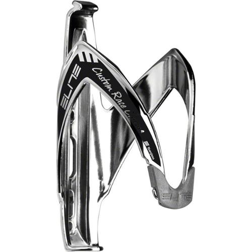 Elite Cycling Custom Race Water Bottle Cage: Chrome