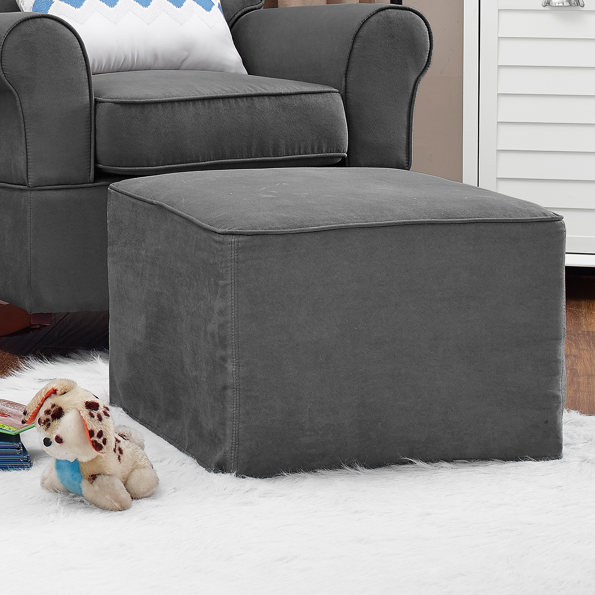 Baby Relax Mackenzie Ottoman, Choose Your Color