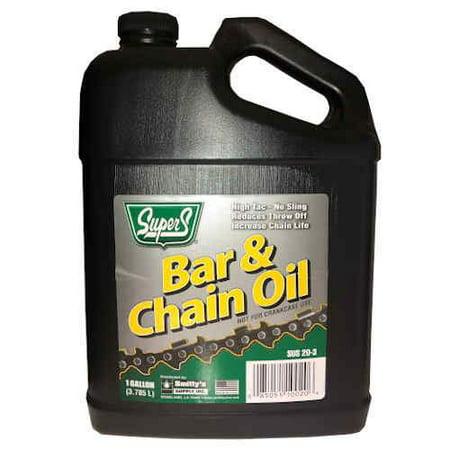 Super S Bar and Chain Oil Gallon