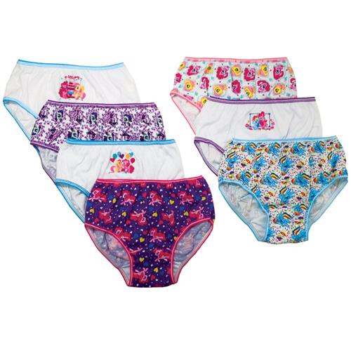 Handcraft Children's Apparel My Little Pony Girls' Underwear 7 Pack