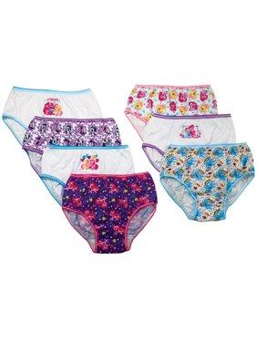 My Little Pony, Girls Underwear, 7 Pack Panties, Size 4 (Little Girls & Big Girls)