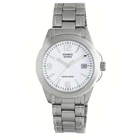 Men's Silver Dial Watch, Stainless Steel Bracelet (Stainless Steel Dorado Silver Dial)