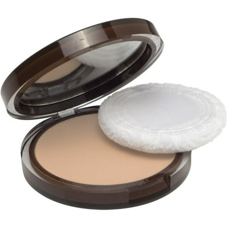 CoverGirl Clean Pressed Powder Compact, Buff Beige [125], 0.39 oz