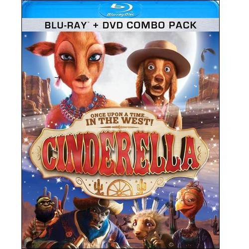 Cinderella: Once Upon A Time In The West (Blu-ray + DVD)