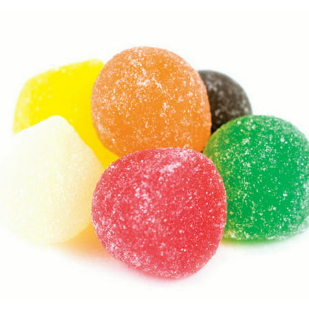 Giant Jellies bulk candy giant jelly gum drops 1 pound ()