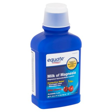 Equate Wild Cherry Milk of Magnesia, 26 fl oz