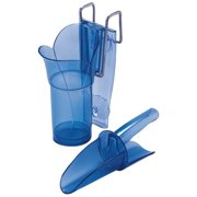 Ice Scoop and Holder, Blue ,San Jamar, SI7000GR