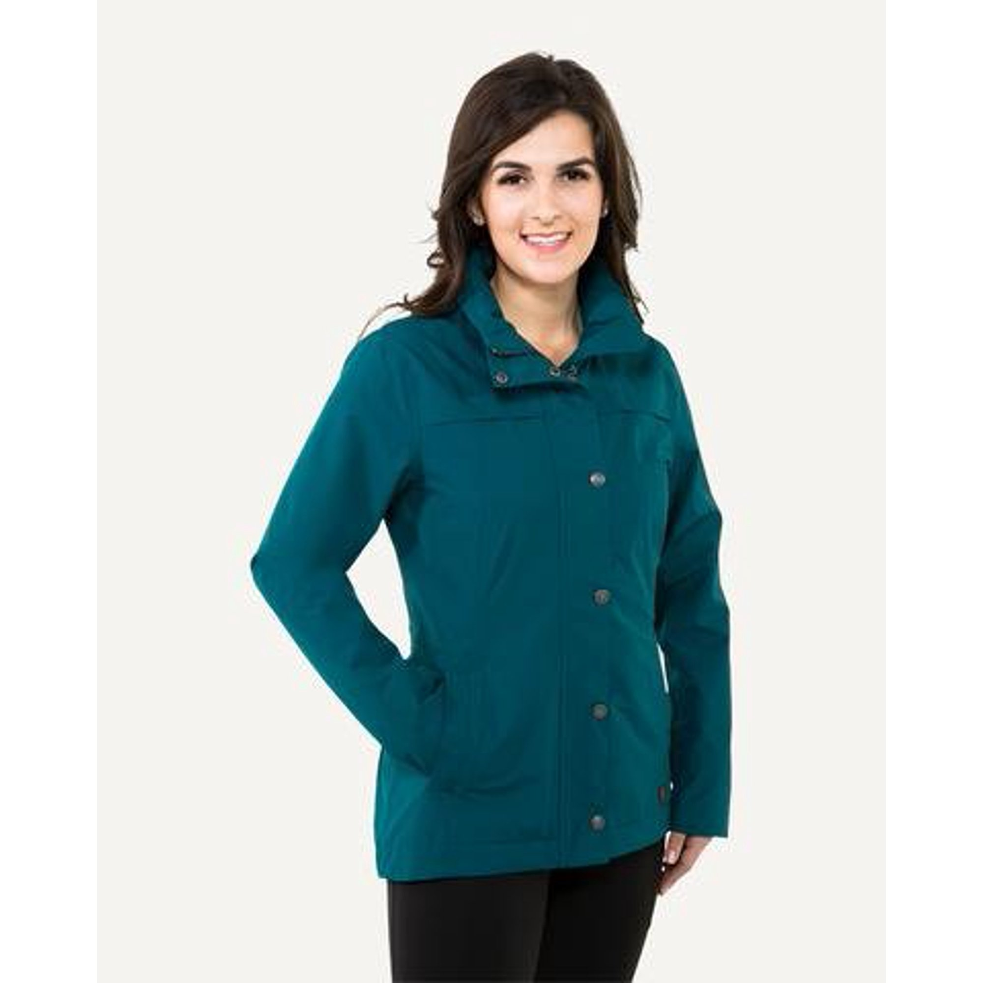 Noble Outfitters Cheval Waterproof Jacket M Teal Walmart Canada