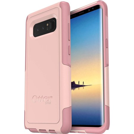 OtterBox Commuter Series Lightweight Protective Compact Case for Samsung Galaxy Note 8 - Non-Retail Packaging - Ballet Way Pink Blush (Galaxy Note 4 Case Otterbox Armor)