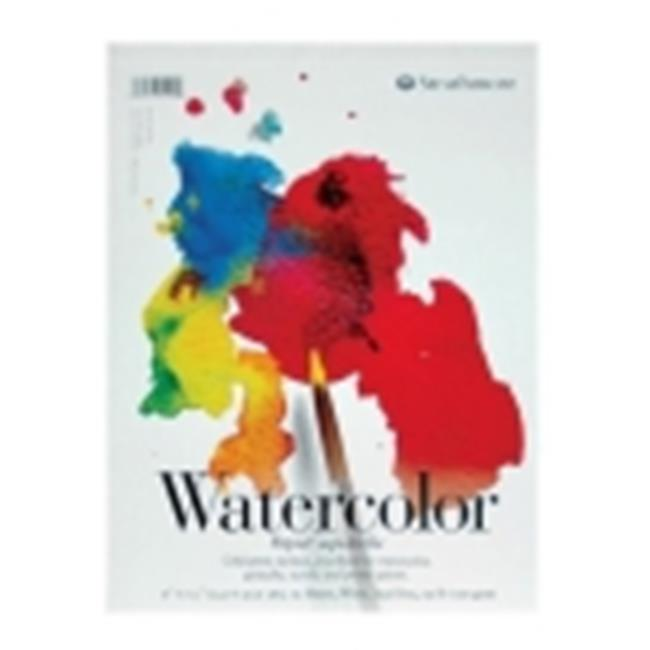 Strathmore 200 Tape Binding Light-Weight Student Grade Watercolor Pad - 9 x 12 in. - 15 Sheets