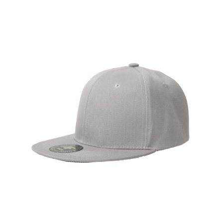 a87a8a95c7567 New Solid Flatbill Snapback hat - Navy - image 1 of ...