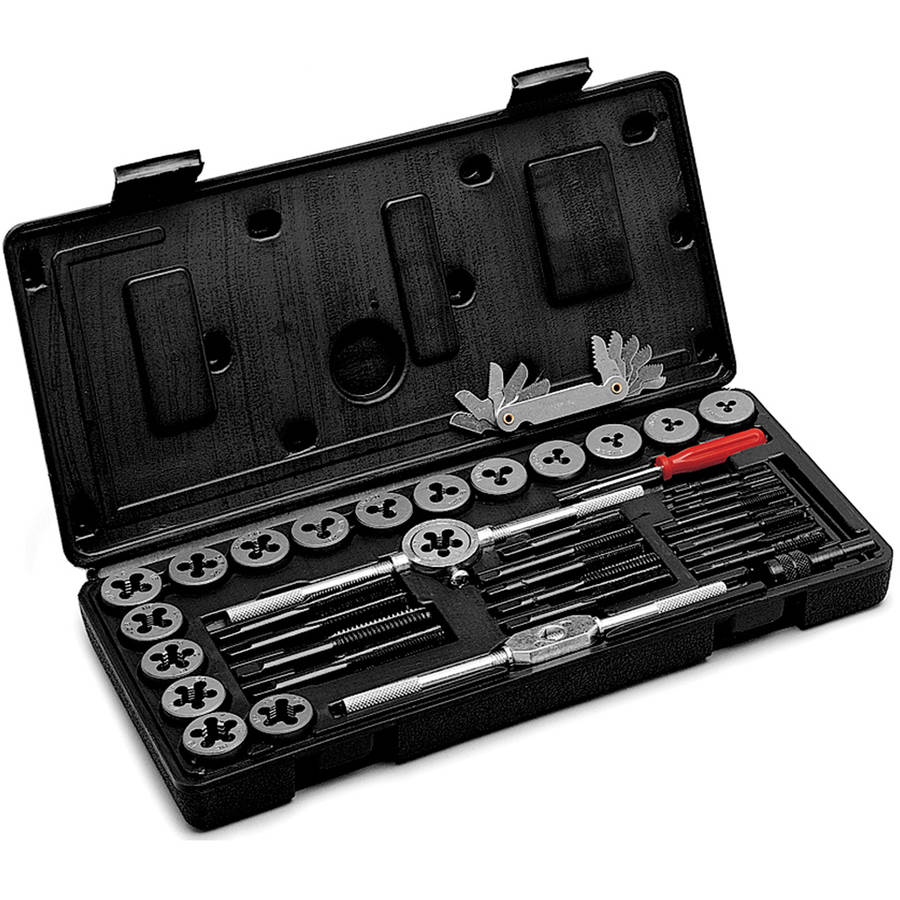 Performance Tool W4001DB 40-Piece Tap and Die Set