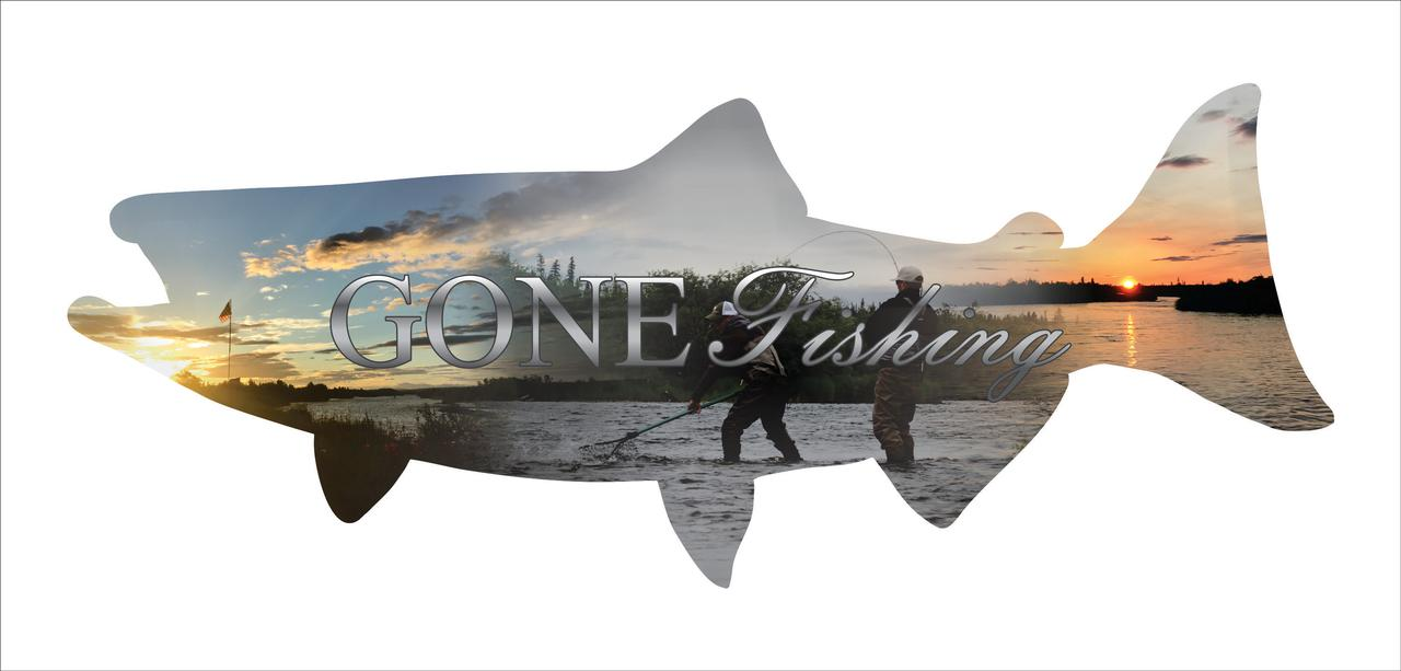 Precision Metal Art Salmon Silhouette Metal Laser Cut Wall ...