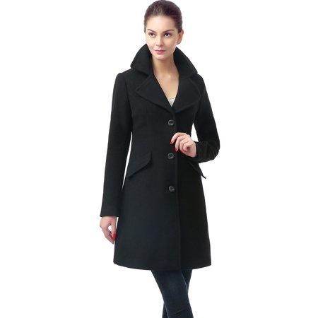- BGSD Women's 'Sasha' Wool Blend Walking Coat