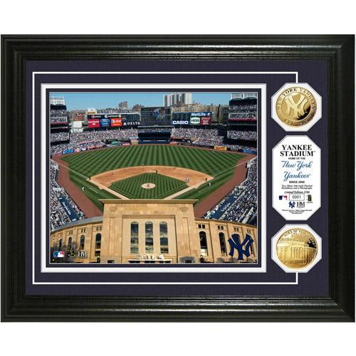 MLB Highland Mint, Yankee Stadium Gold Coin Photo Mint