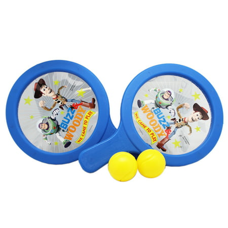 Disney Pixar's Toy Story 3 Kids Drum Paddle Ball Game - Toy Story Game