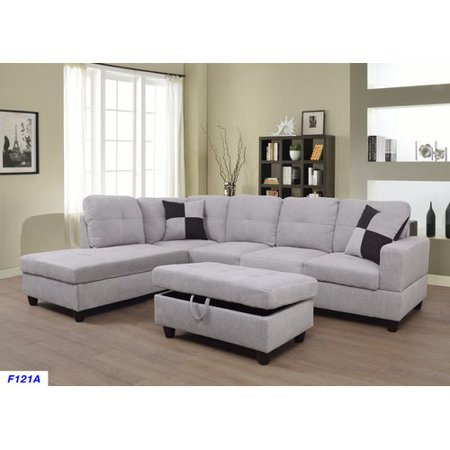 Ebern Designs Jaiden Sectional with Ottoman