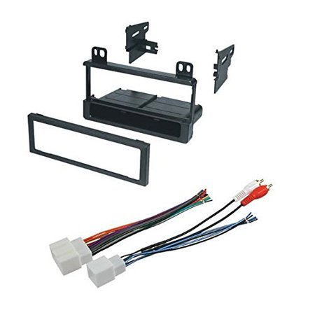 ford 1999 - 2003 f-series car radio stereo radio kit dash installation mounting wiring harness