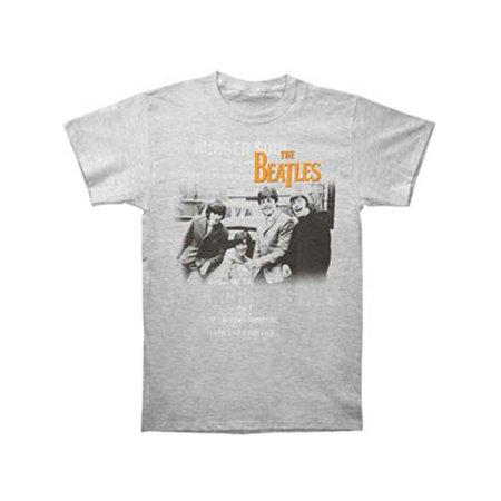01b58a2e2a35 Beatles - Beatles Men's Rubber Soul T-shirt Grey - Walmart.com