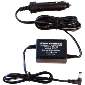 Wilson 6V DC/DC Cell Amplifier Car Charger 859913