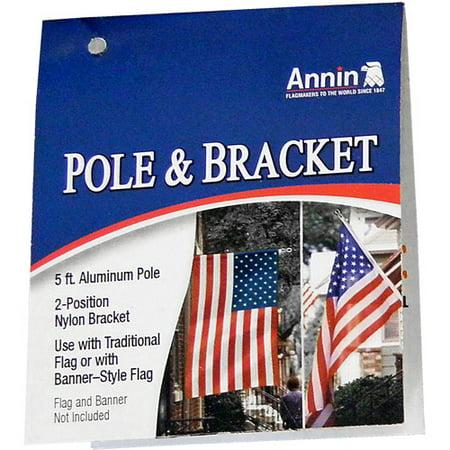 Annin Flagpole (Annin Pole and Bracket)
