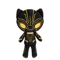 Funko Hero Plushie: Black Panther - Gold Glow
