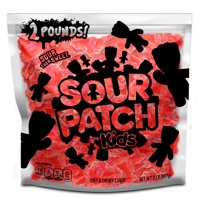 SOUR PATCH KIDS Redberry Soft & Chewy Candy, Just Red (2 Pound Party Size Bag)
