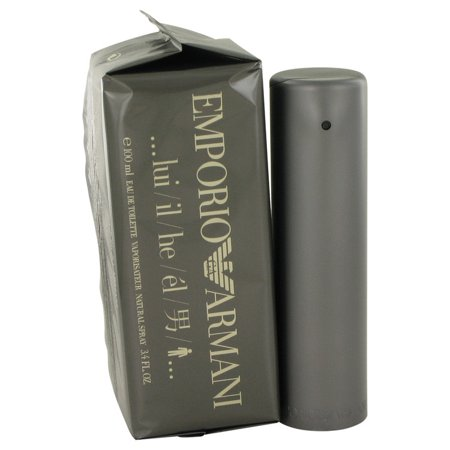 Giorgio Armani EMPORIO ARMANI Eau De Toilette Spray for Men 3.4 (Giorgio Armani Height)