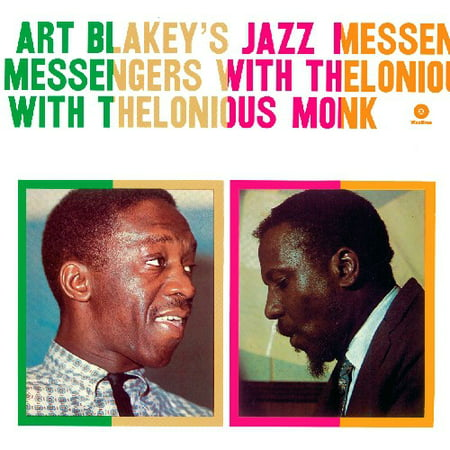 Art Blakeys Jazz Messengers with Thelonious Monk (Vinyl)