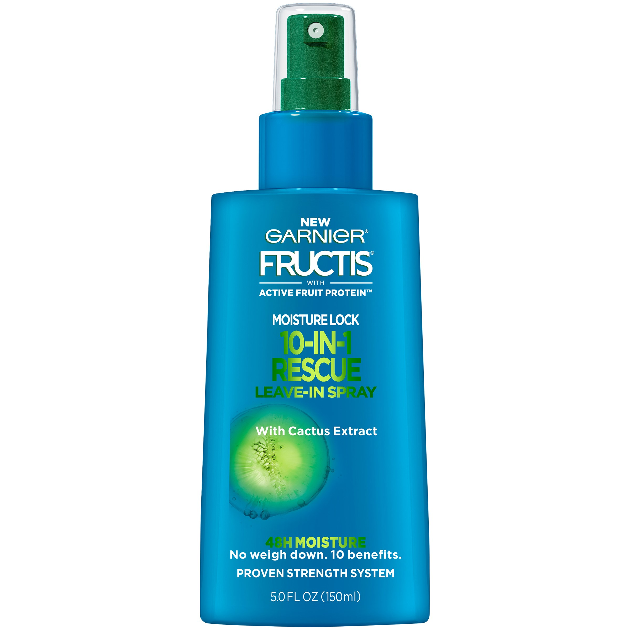 Garnier Fructis Moisture Lock 10-in-1 Rescue Leave-In Spray, 5 Fl Oz