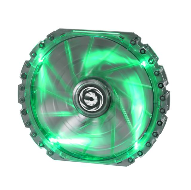 Bitfenix BFF-LPRO-23030G-RP Spectre Pro 230mm Green Led Case Fan