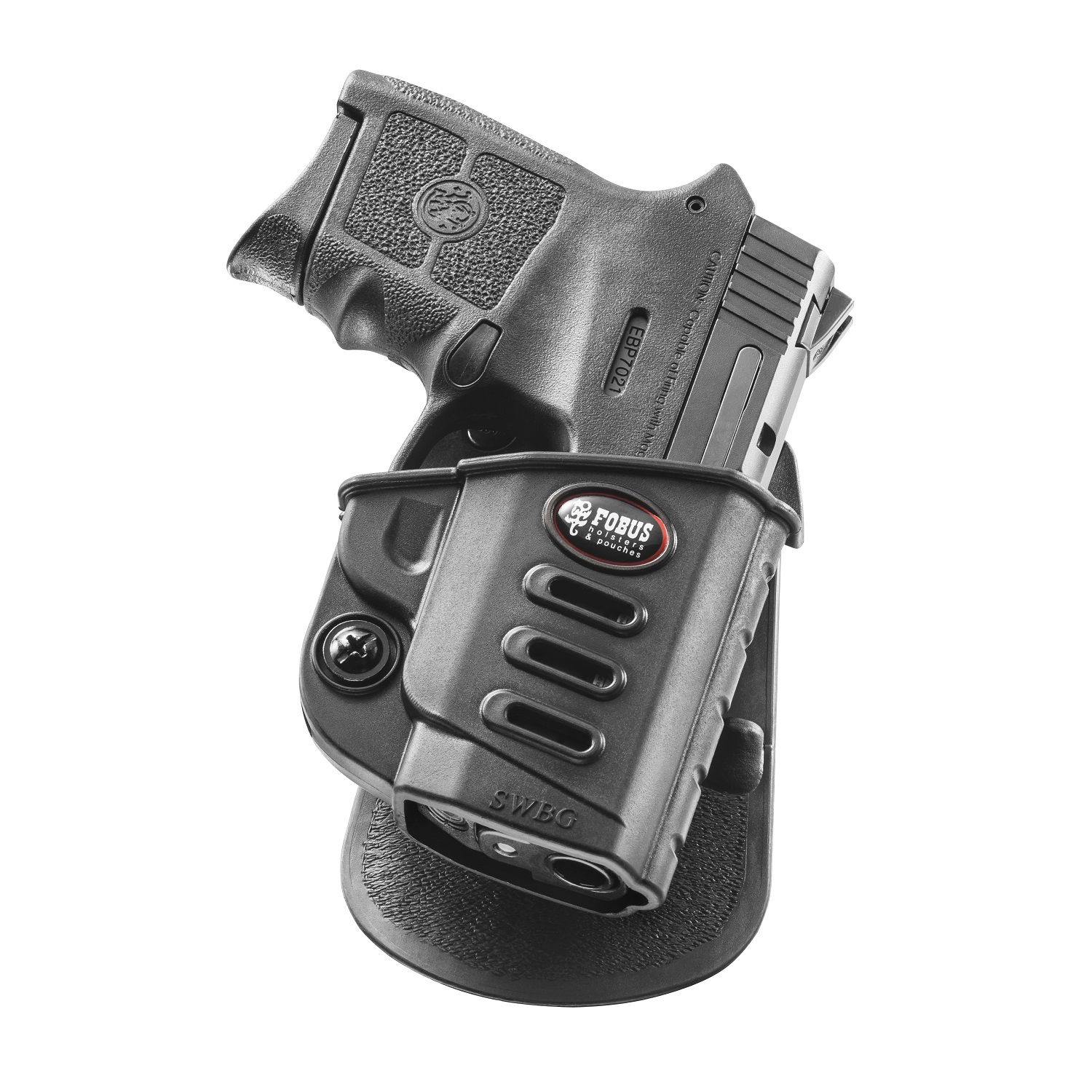 Fobus Evolution Paddle Holster S&W M&P Bodyguard SKU: SWBG with Elite Tactical Cloth by Fobus
