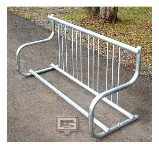 Traditional Single Sided Bike Rack