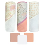 Hooded Towels 3 Pack - Bunny