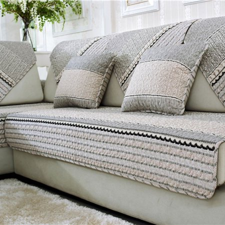 Awe Inspiring Leshp Sofa Slipcovers Sectional Couch Covers Non Slip Sofa Squirreltailoven Fun Painted Chair Ideas Images Squirreltailovenorg
