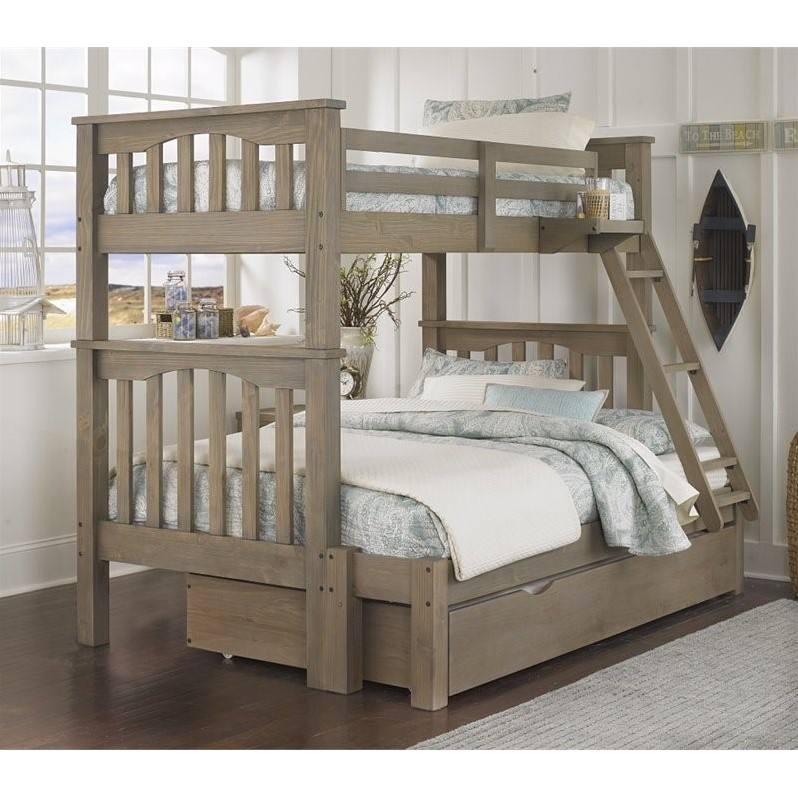 Rosebery Kids Twin Over Full Bunk Bed, Queen Bunk Bed With Trundle