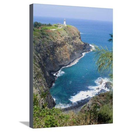 - Kilauea Lighthouse, Kilauea Point, National Wildlife Refuge, Hawaii Stretched Canvas Print Wall Art By Ethel Davies