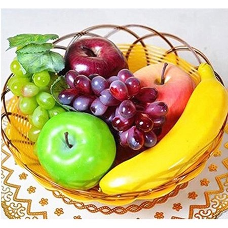 Coolmade Artificial Plastic Realistic Looking 6 Mixed Fruits
