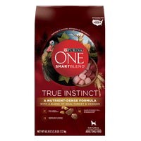 Purina ONE High Protein Natural Dry Dog Food; SmartBlend True Instinct With Real Turkey & Venison - 3.8 lb. Bag