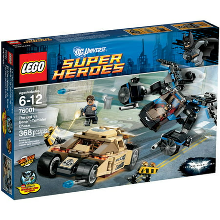 Bane Maks (LEGO Super Heroes The Bat vs. Bane: Tumbler Chase Play)