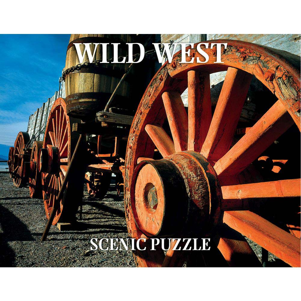 Wild West Scenic 300 Piece Puzzle, Landscapes by Creative Arts Publishing