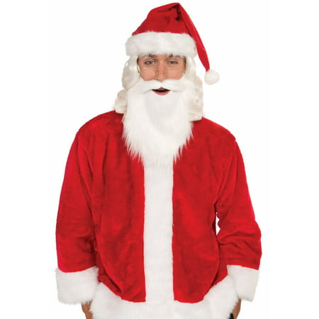 Simply Santa Beard & Mustache - Beard And Mustache Costume