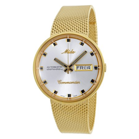 Commander I Automatic Silver Dial Gold-tone Mens Watch M842932113