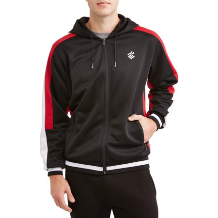 - Men's Track Jacket Interlock, Full Zip Hoodie