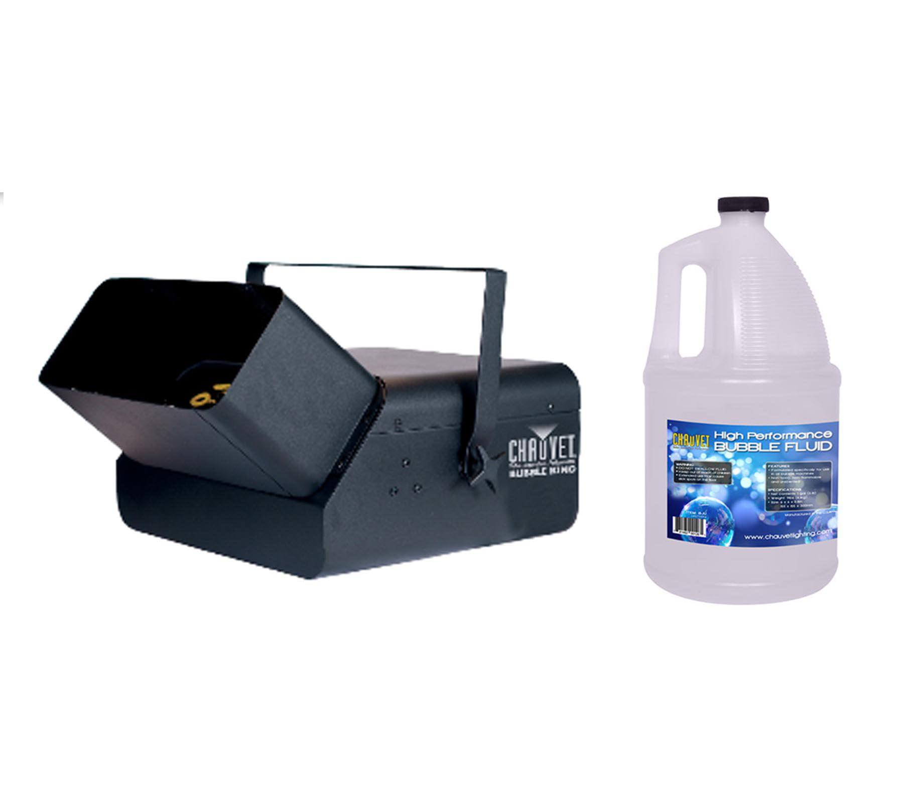Click here to buy CHAUVET B550 Bubble King High Output Bubble Machine + 1 Chauvet BJU Bubble Fluid by Chauvet Dj.
