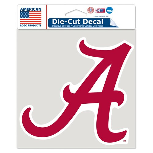 "American Logo Products Alabama Crimson Tide 6"" x 6"" Decal"