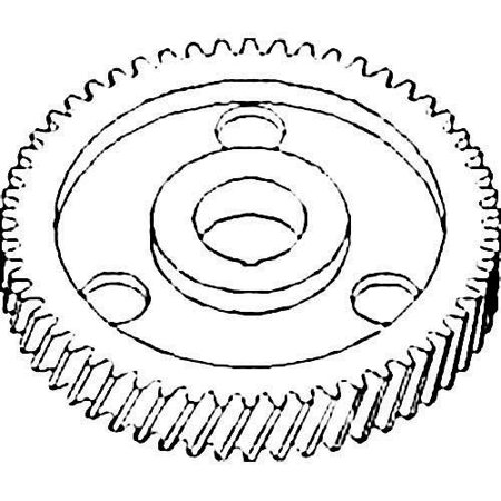Camshaft Timing Gear, New, Allis Chalmers, 70203923